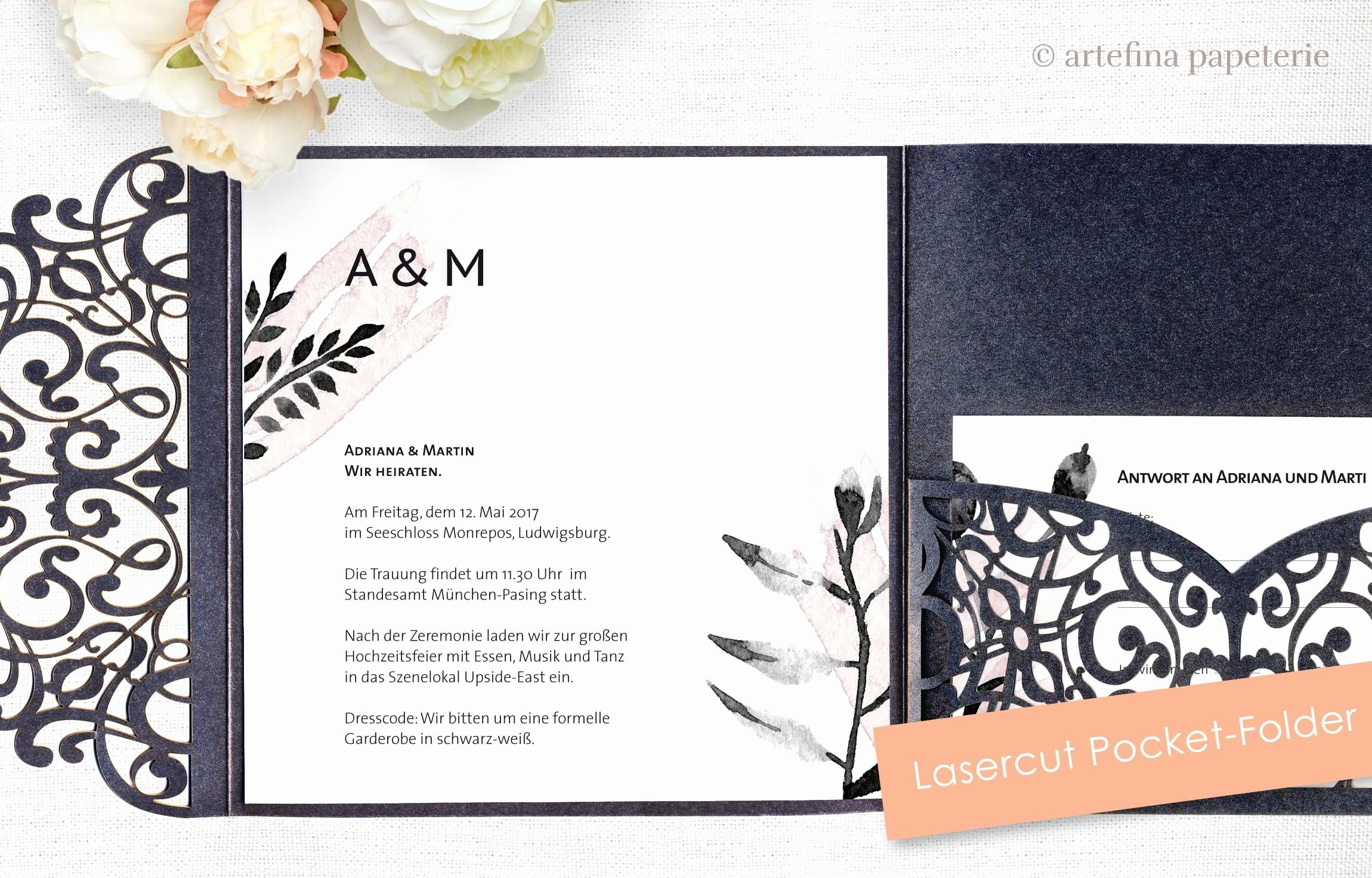Antwort Auf Einladung Genial Be Our Guest Invitations Inspirational Floral Write Your Own Wedding