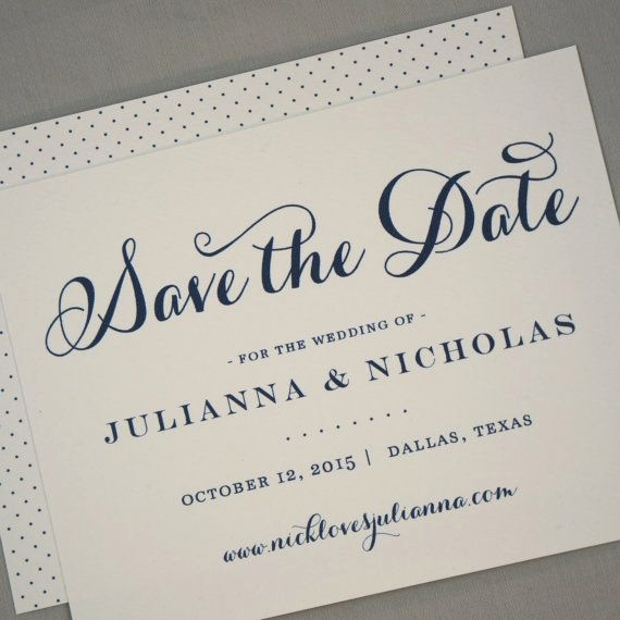 Ausgefallene Save the Date Karten Best Save the Date Calligraphy Classic Script Modern Traditional