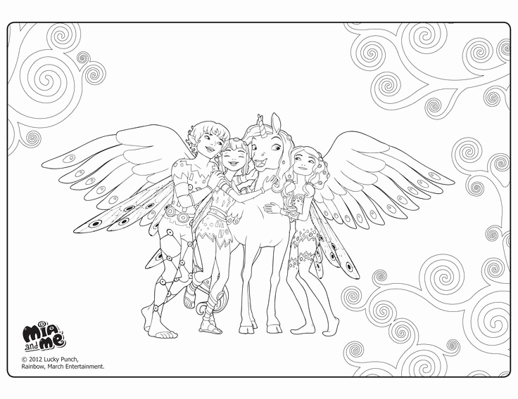 Ausmalbilder Mia and Me Schön Mia and Me Coloring Pages Elegant 34 Best Mia Et Moi