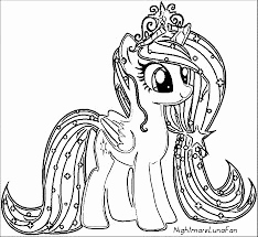 Ausmalbilder My Little Pony Frisch My Little Pony Coloring Pages For