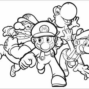 Ausmalbilder Super Mario Inspirierend Coloring Printing Pages New Coloring Color Printable Pages 20