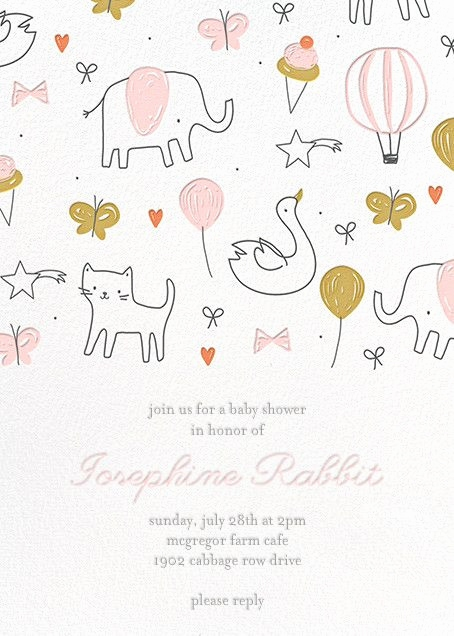 Babyparty Einladung Text Luxus Custom Baby Shower Invitations Elegant Baby Shower Einladung