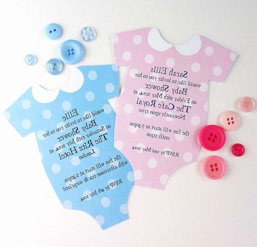 Babyparty Einladungskarten Schön Printed Baby Shower Invitations Awesome where to Buy Baby Shower