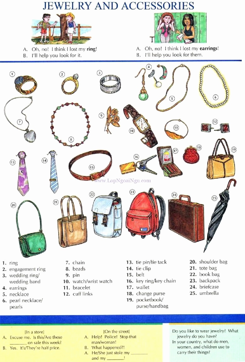 Bilder Engel Kostenlos Inspirierend 56 Jewelry and Accessories Dictionary English Study