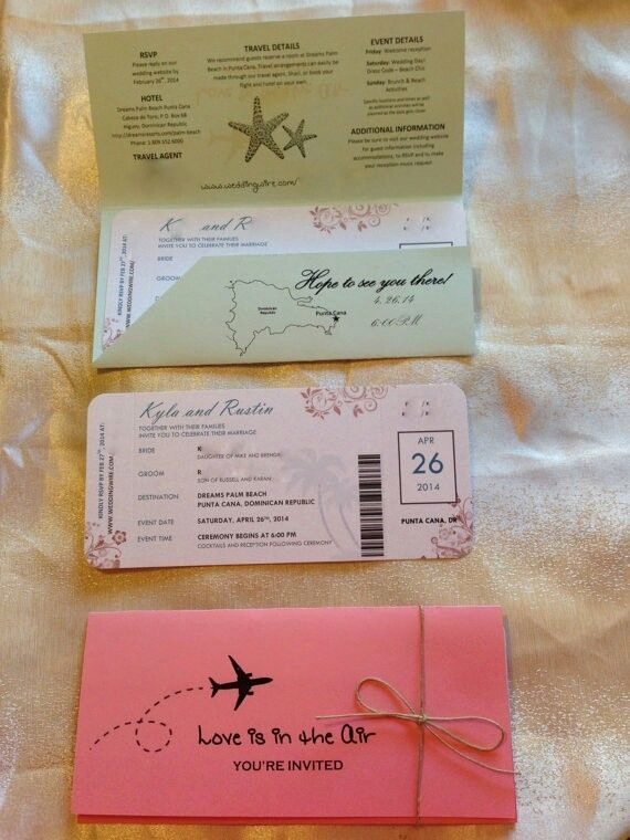 Boarding Pass Einladung Genial Einladungen Carte D Invitation Pinterest