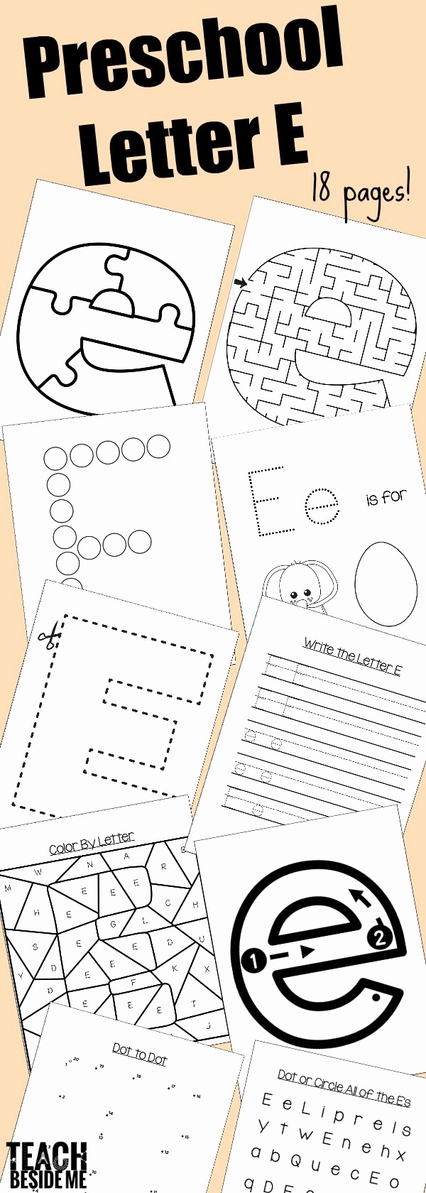 Buchstaben Lernen Fur Vorschulkinder Luxus Preschool Letter E Activities Letter Of the Week