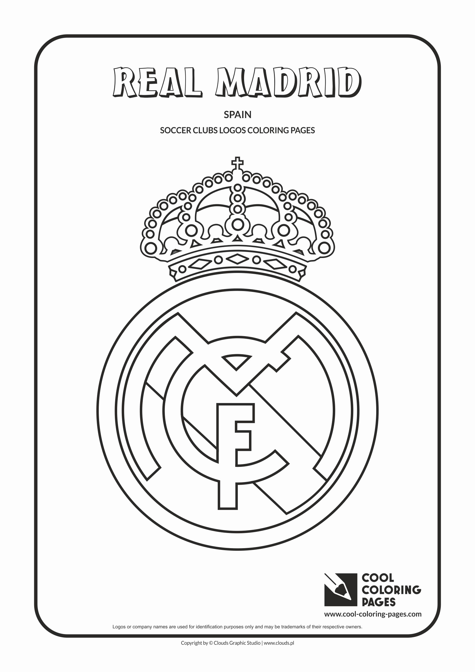 Bvb Ausmalbilder Zum Ausdrucken Best Cool Coloring Pages Others Real Madrid Logo Coloring Page with