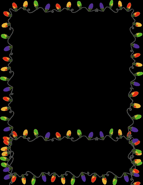 Clipart Kostenlos Weihnachten Genial Xmas Lights Clip Arts and Borders Fonts Pinterest