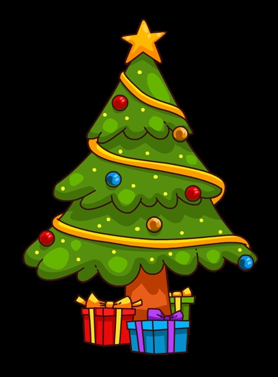 Clipart Kostenlos Weihnachten Schön You Can Use This Cute Cartoon Christmas Tree Clip Art On Your