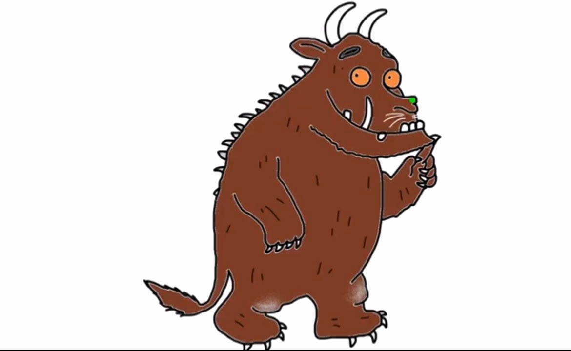 Comics Zeichnen Lernen Anleitung Einzigartig How to Draw the Gruffalo From the Gruffalo Story and Movie In Full
