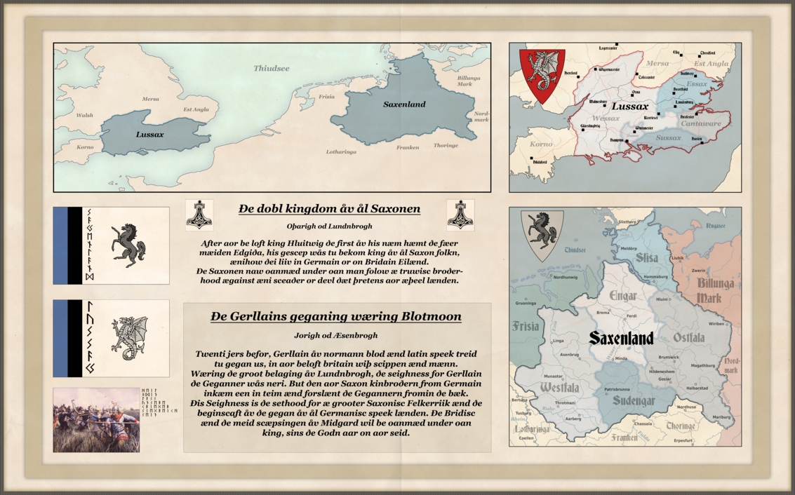 Dankeschon Karten Text Einzigartig Kingdom Of All Saxons by Arminius1871 On Deviantart