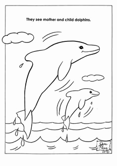 Delphin Bilder Zum Ausmalen Elegant Preschool Dolphin Craft with Template