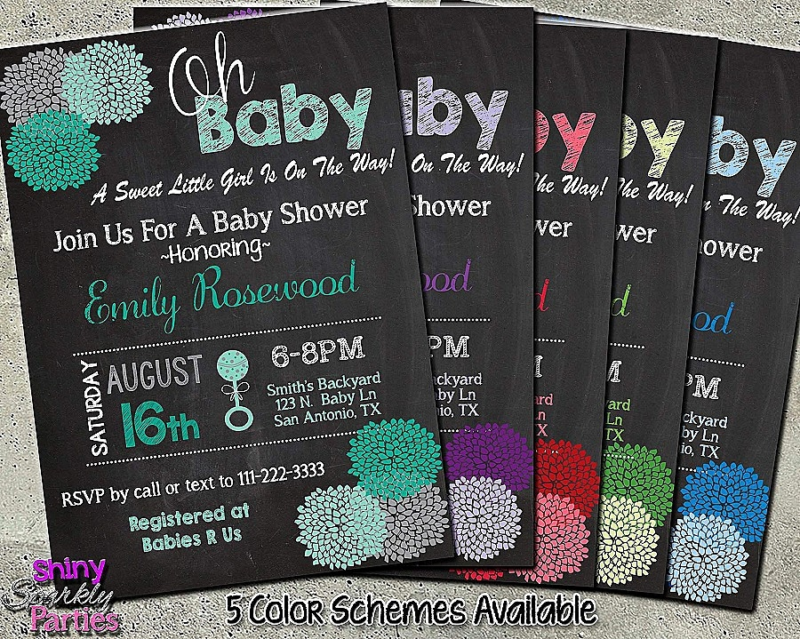 Digitale Einladungskarten Neu Custom Baby Shower Invitations Elegant Baby Shower Einladung