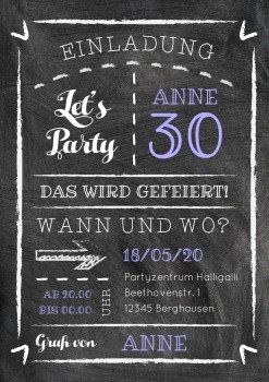 Einladung Gartenparty Geburtstag Best Kreide Party 30 Party Pinterest