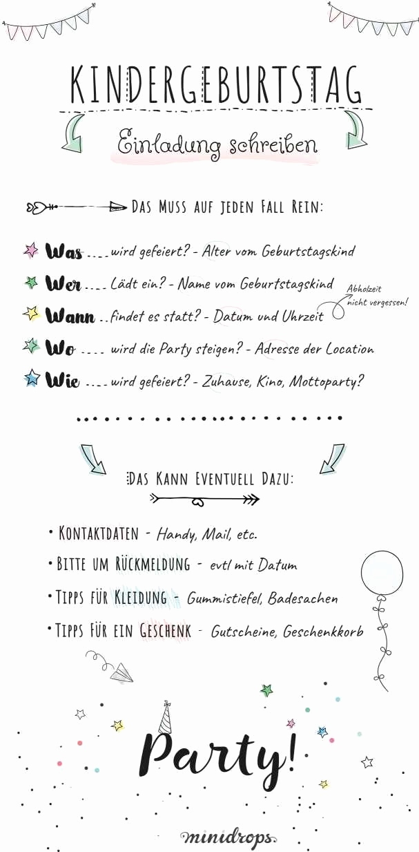 Einladung Kindergeburtstag Text Luxus Black and White Party Einladung Lovely as Texte Einladung