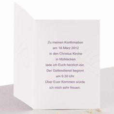 Einladung Konfirmation Muster Inspirierend 10 Best Einladung Konfirmation Images On Pinterest
