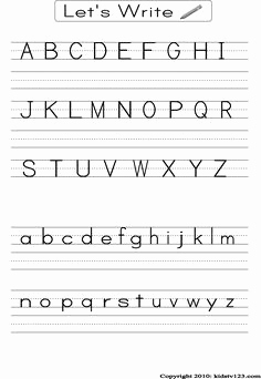 Englisches Alphabet Lernen Schön I Could Laminate This so It Could Be Used with A Dry Erase Marker