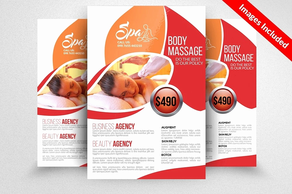 Flyer Vorlage Indesign Genial Free Massage Flyers Template Beautiful Free Flyer Templates Indesign