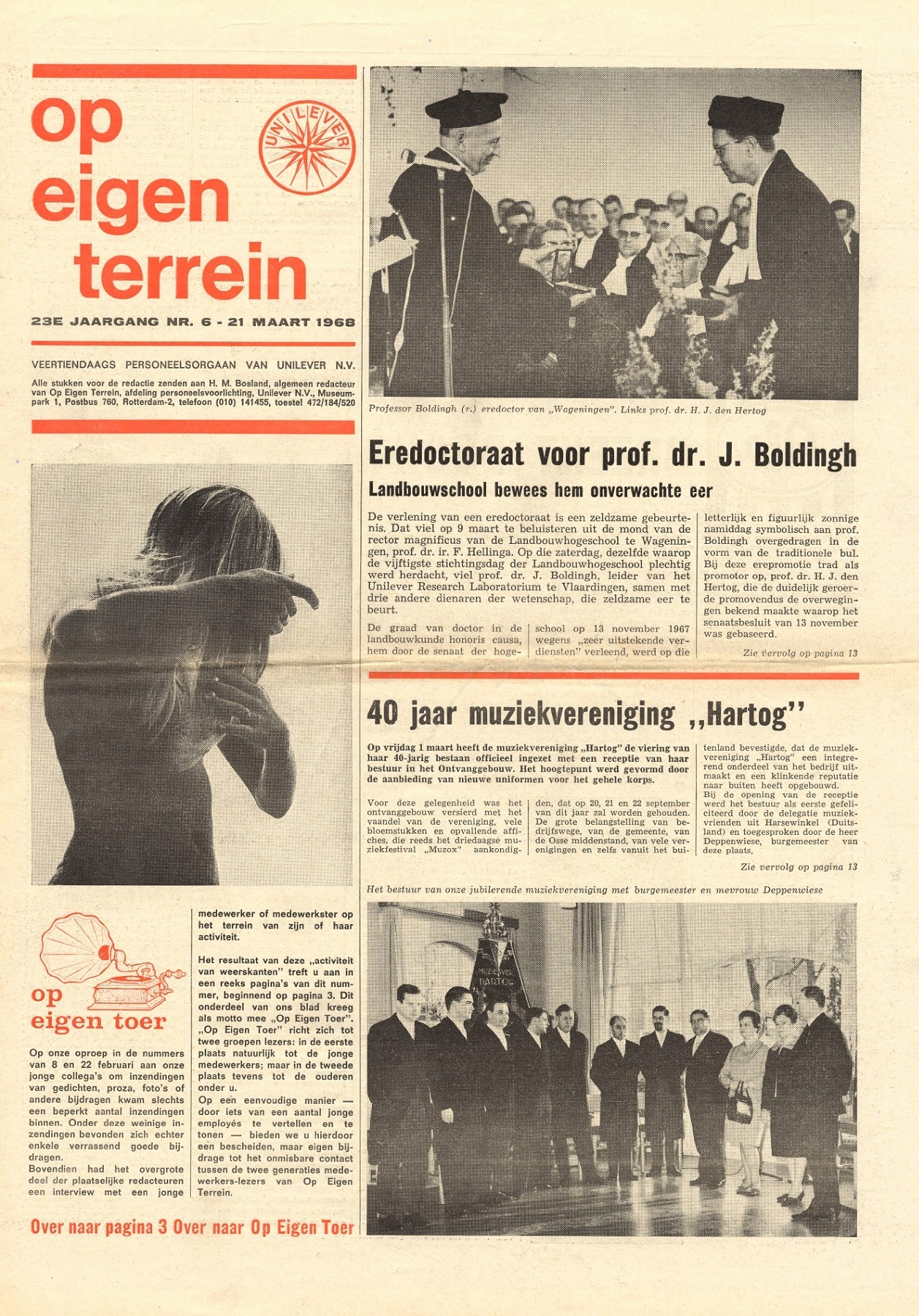 Geburt Dankeskarte Luxus Op Eigen Terrein 1968 23 No 06 Pages 1 16 Text Version