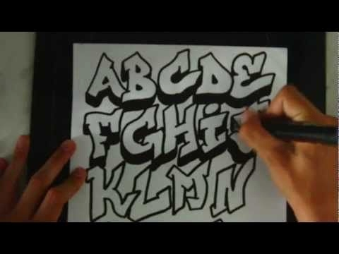 Graffiti Alphabet Vorlagen Einzigartig Graffiti Alphabet Drawing Graffiti Letters Abc