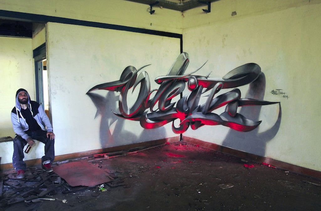 Graffiti Schrift 3d Genial Graffiti Alphabet 3d Wildstyle Archidev