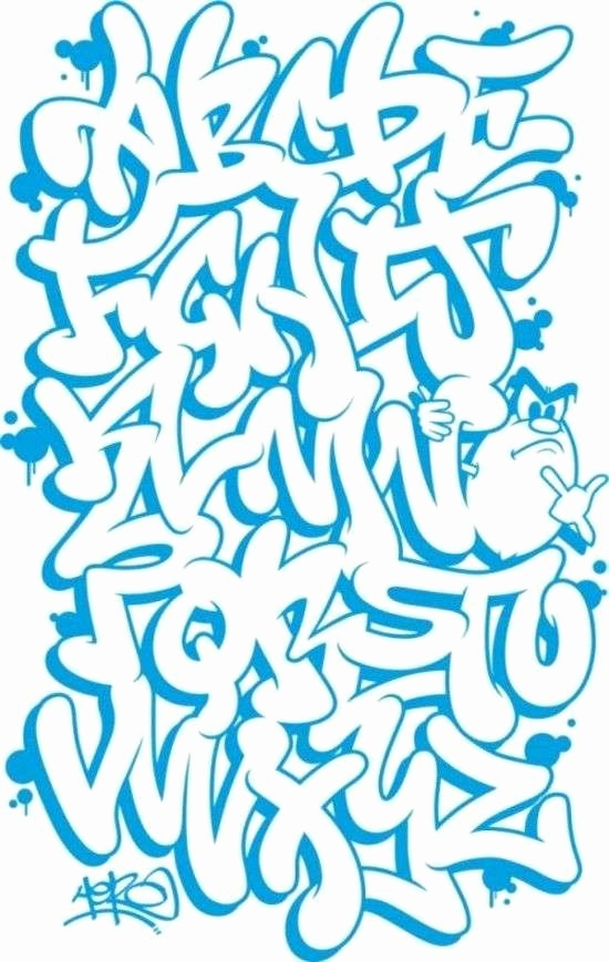 Graffiti Schrift 3d Luxus How to Draw Graffiti Letters Awesome Graffiti Alphabet Bubble