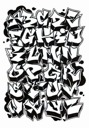 Graffiti Schrift 3d Schön How to Draw Graffiti Letters New Graffiti Letters Dr Odd