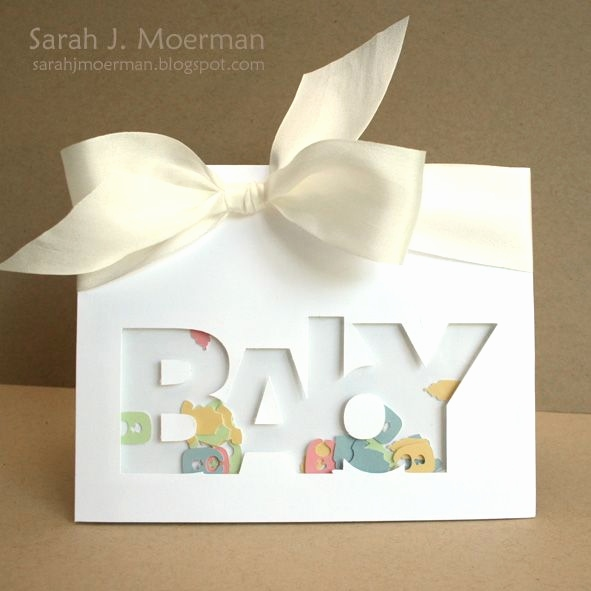 Gruskarten Geburt Baby Luxus Word Shaker Card Idea Cards Pinterest