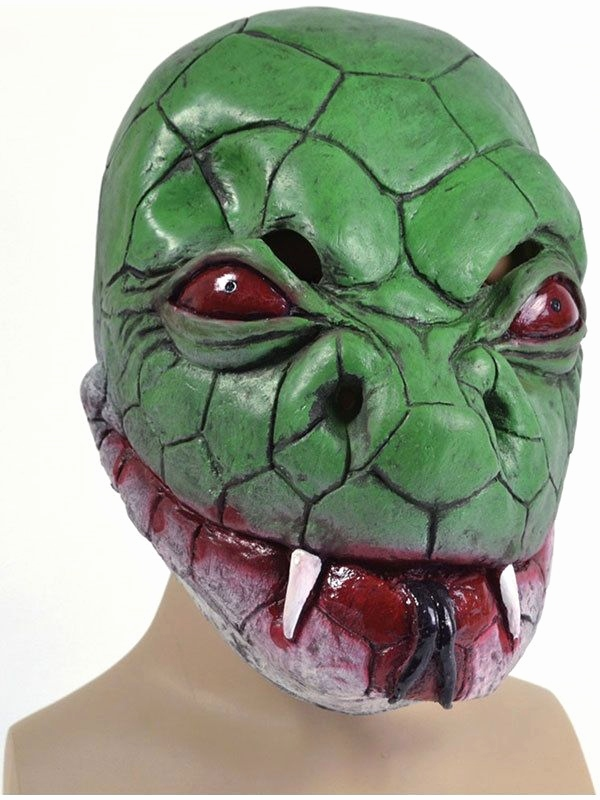 Halloween Masken Basteln Best Snake Monster Reptile Fancy Dress Mask Halloween Animal Lizard Adult