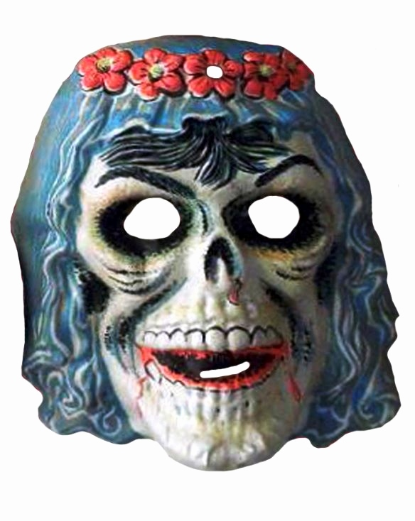 Halloween Masken Basteln Frisch Woman Skull Bride Plastic Halloween Mask Photo by Brechtbug