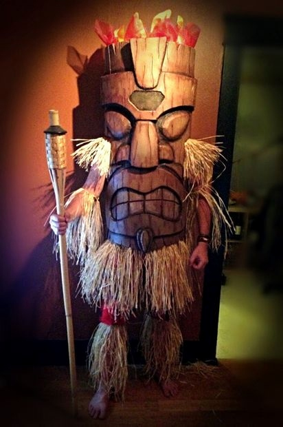 Halloween Masken Basteln Luxus Tiki God Eva Foam Costume Cc 2015 Pinterest