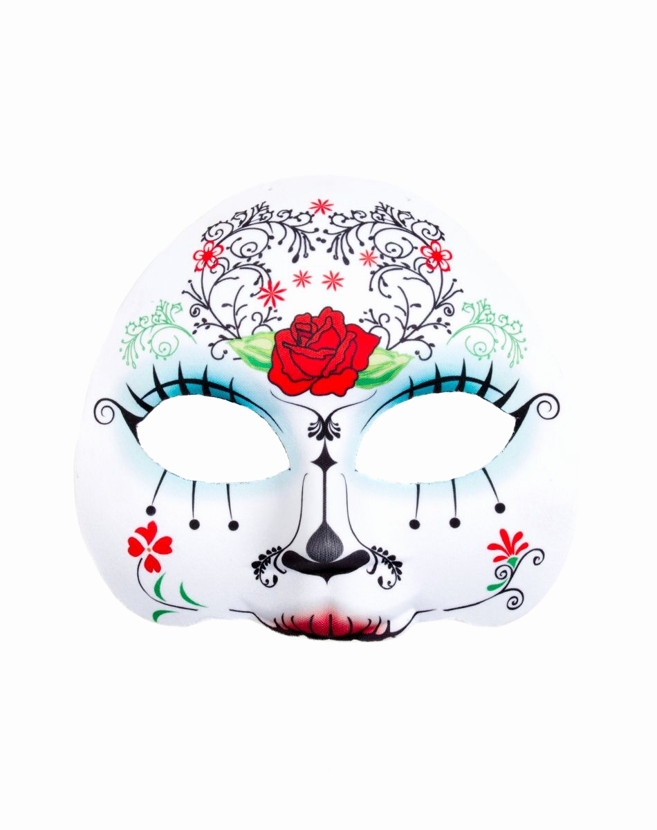 Halloween Masken Basteln Schön Day Of the Dead Mask – Spirit Halloween Inspiring Ideas