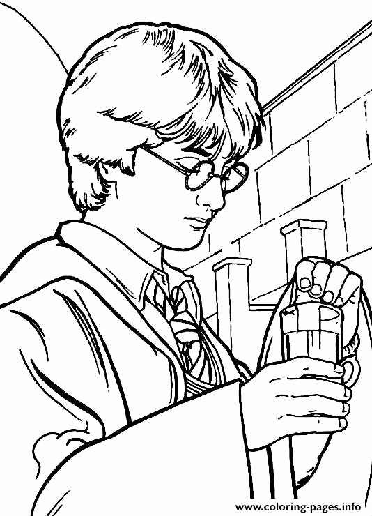 Harry Potter Ausmalbilder Frisch Harry Potter Printable Coloring Pages Best Free Harry Potter