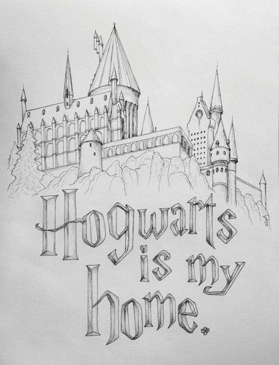 Harry Potter Ausmalbilder Luxus Harry Potter Drawing New Harry Potter Rocks My World Hogwarts is My