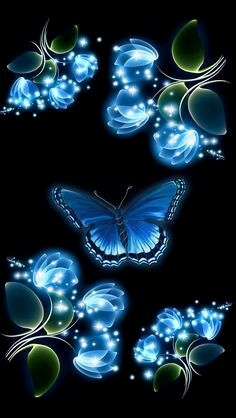 Hintergrundbilder Schmetterlinge Kostenlos Neu 442 Best Wallpapers butterflies Flowers Neon Images On Pinterest