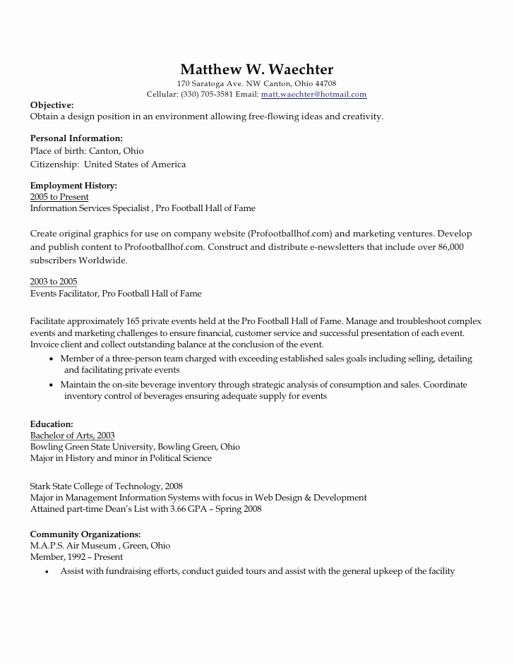 Ideen Portfolio Kindergarten Luxus Marketing Cv Examples and Template Resume Portfolio Examples