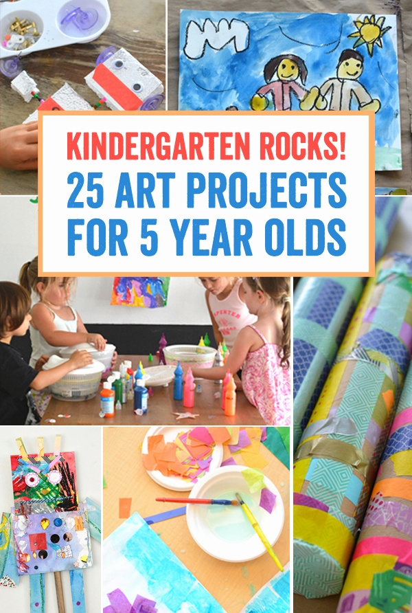 Ideen Portfolio Kindergarten Schön Kindergarten Rocks 25 Art Projects for 5 Year Olds Meri Cherry