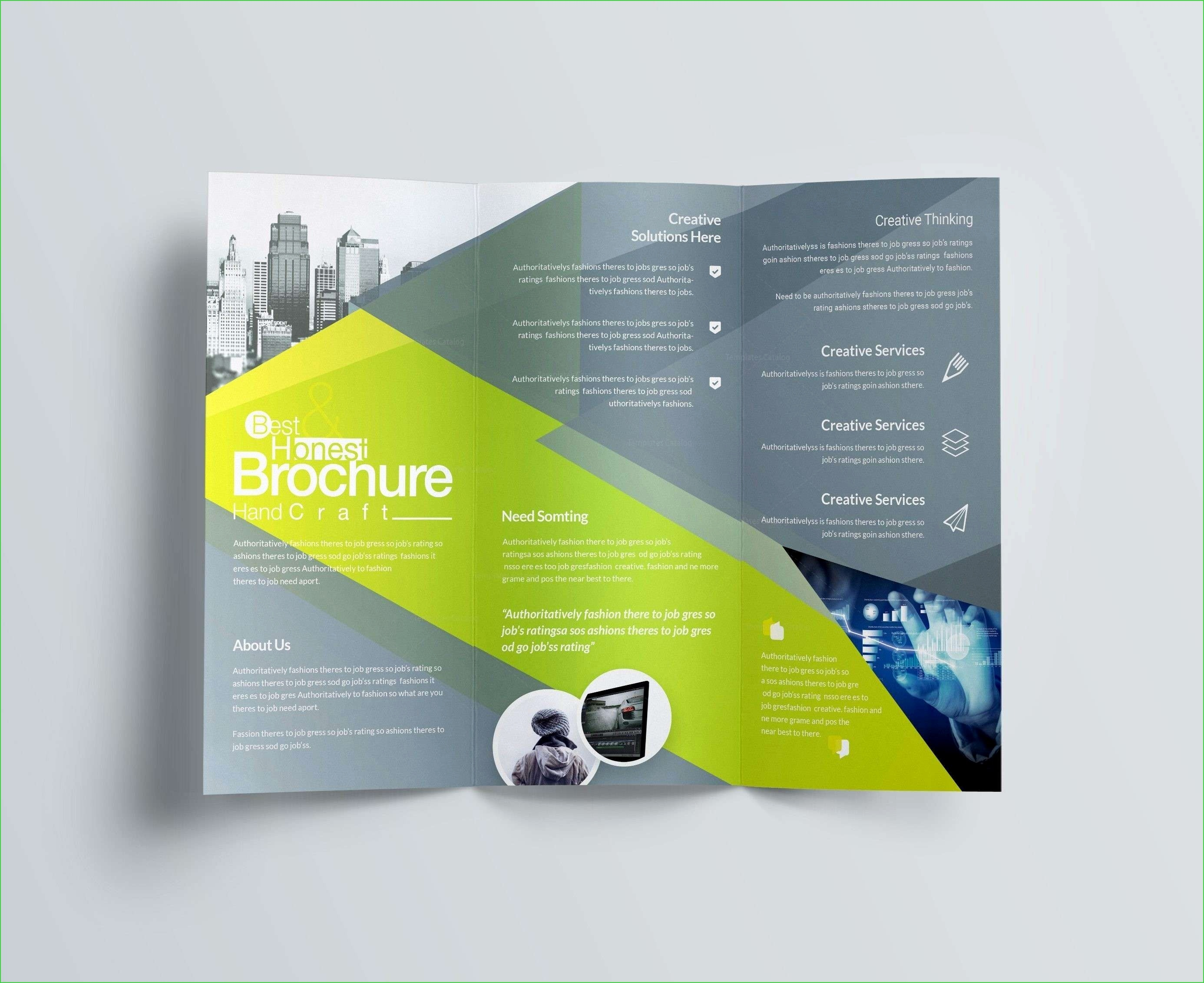 Indesign Flyer Vorlage Best 24 Adobe Indesign Brochure Templates