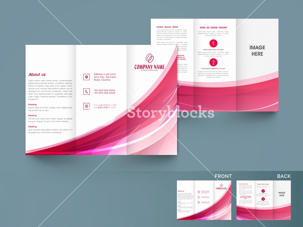 Indesign Flyer Vorlage Luxus Simple Tri Fold Brochure Template Beautiful 50 Premium Indesign