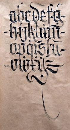 Kalligraphie Schrift Generator Einzigartig Calligraphy Alphabet Old English Calligraphy Alphabet