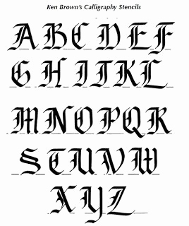 Kalligraphie Schrift Generator Inspirierend Calligraphy Alphabet Old English Calligraphy Alphabet