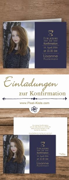 Kommunionkarten Online Gestalten Frisch 10 Best Einladung Konfirmation Images On Pinterest