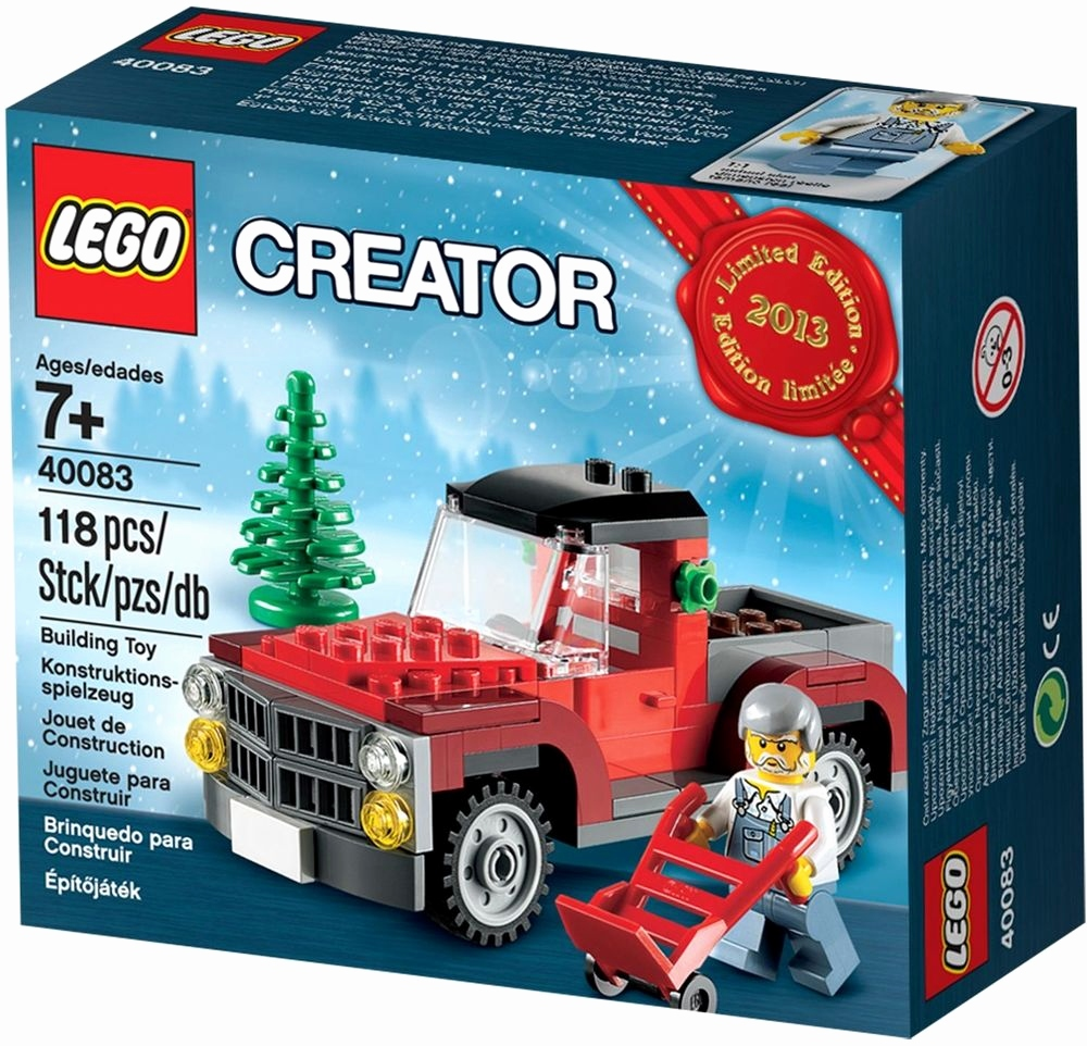 Lego Chima Spielzeug Best 2013 Limited Edition Lego Creator Seasonal Christmas Tree Truck