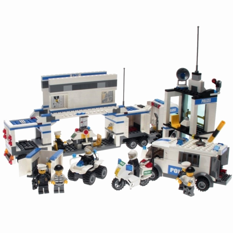 Lego Chima Spielzeug Schön Lego City Police Super Pack 3 In 1 7235 7245 7743 Decotoys