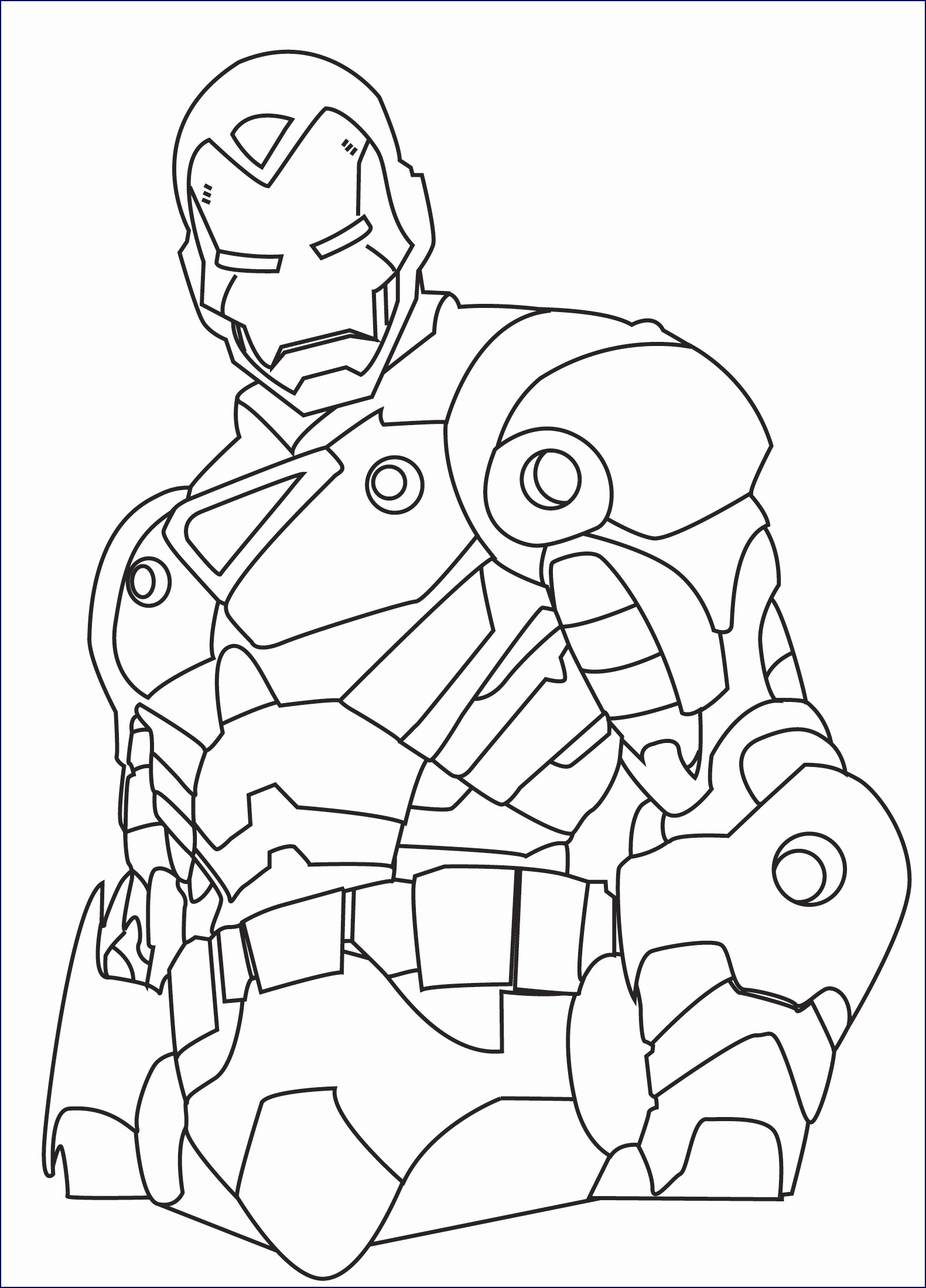 LEGO Marvel Avengers - Coloring pages for kids | 2200x1581