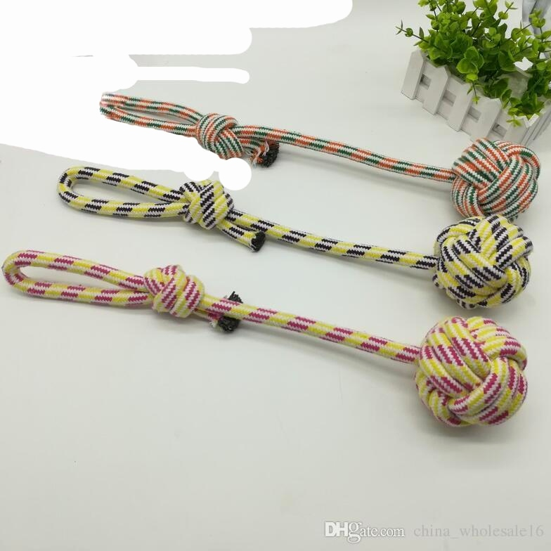 Little Pet Shop Spiele Einzigartig wholesale Pet Chews toys Rope Dog toy Games Knot Ball toys for Small