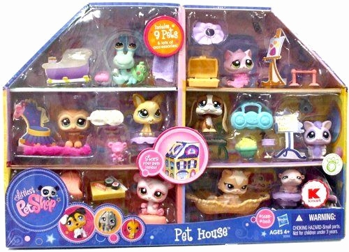 Little Pet Shop Spiele Frisch Littlest Pet Shop Exclusive Playset Pet House Includes 9 Pets