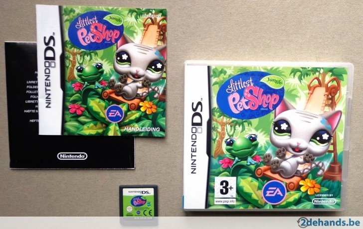 Little Pet Shop Spiele Genial Littlest Pet Shop Jungle Voor De Nintendo Ds Pleet Te Koop