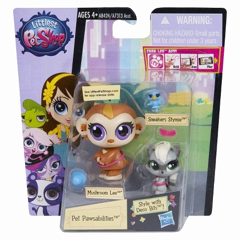 Little Pet Shop Spiele Inspirierend Littlest Pet Shop Pet Pawsabilities Mushroom Lee & Sneakers Stymie