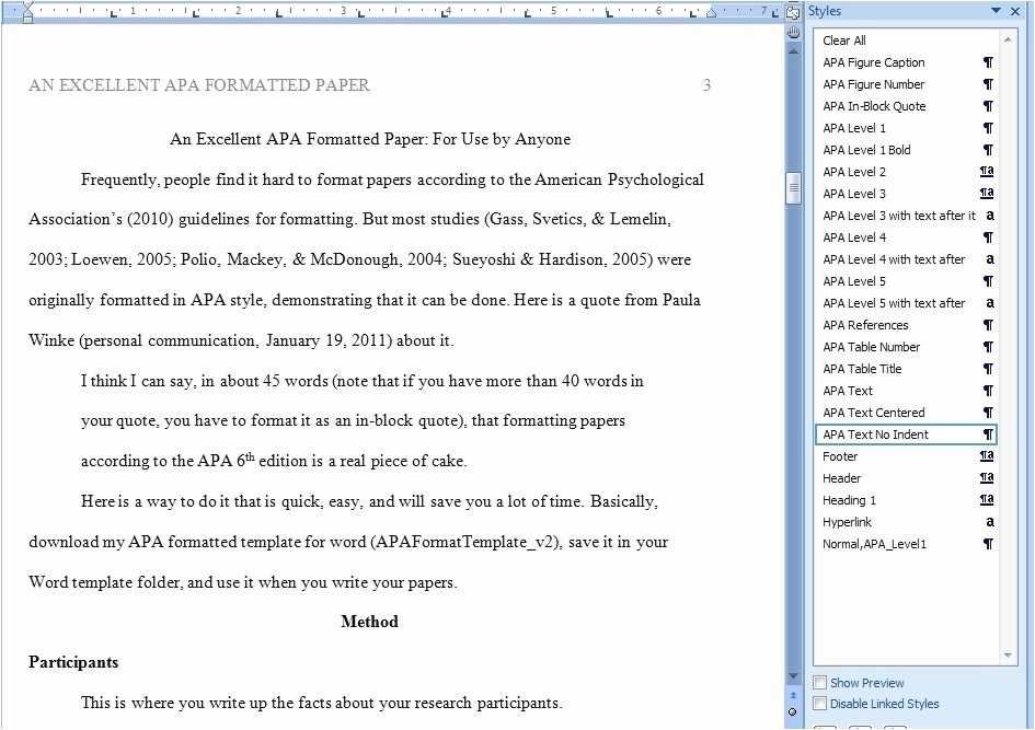 Lowen Bilder Kostenlos Schön Apa Paper Template Free Apa Style Sample Papers 6th and 5th Edition